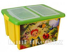 Ящик детский СЮРПРИЗ 470*370*250 мм 48002 (003)