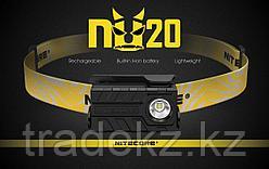 Фонарь налобный светодиодный NITECORE NU20 Black, с аккумулятором