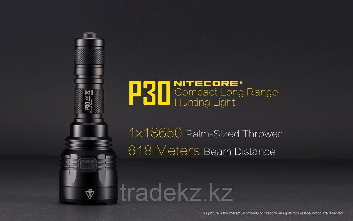 Фонарь тактический светодиодный NITECORE P30 (без элементов питания)