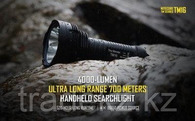 Фонарь поисковый светодиодный NITECORE TM16W (без элементов питания), фото 2
