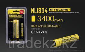 Аккумулятор NITECORE NL1834 (3400mAh)