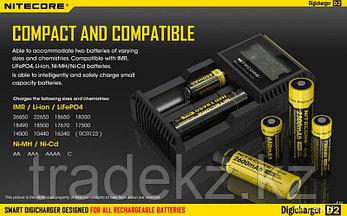 Зарядное устройство NITECORE D2 EU, фото 2