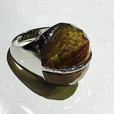 Кольцо серебряное с авантюрином