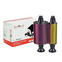 Полноцветная лента Evolis YMCKO 200 отпечатков, R3011