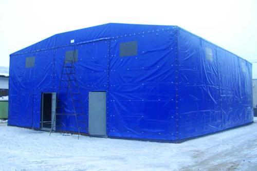 Укрытие для строительного объекта 25х25
