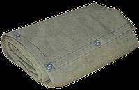Полог брезентовый водоупорный 4 x 6 м (стандарт), с люверсами
