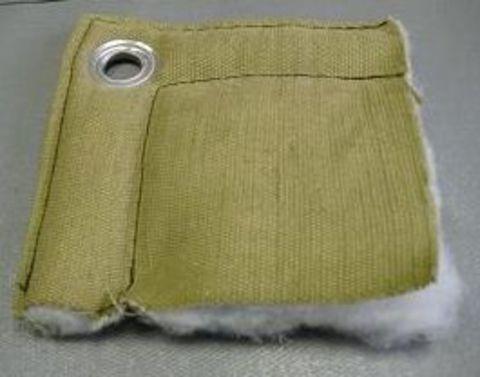 Трехслойный утепленный тент БРЕЗЕНТ для бетона и строительства (термомат)