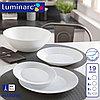 Сервиз столовый белый HARENA 19 предметов, фото 2