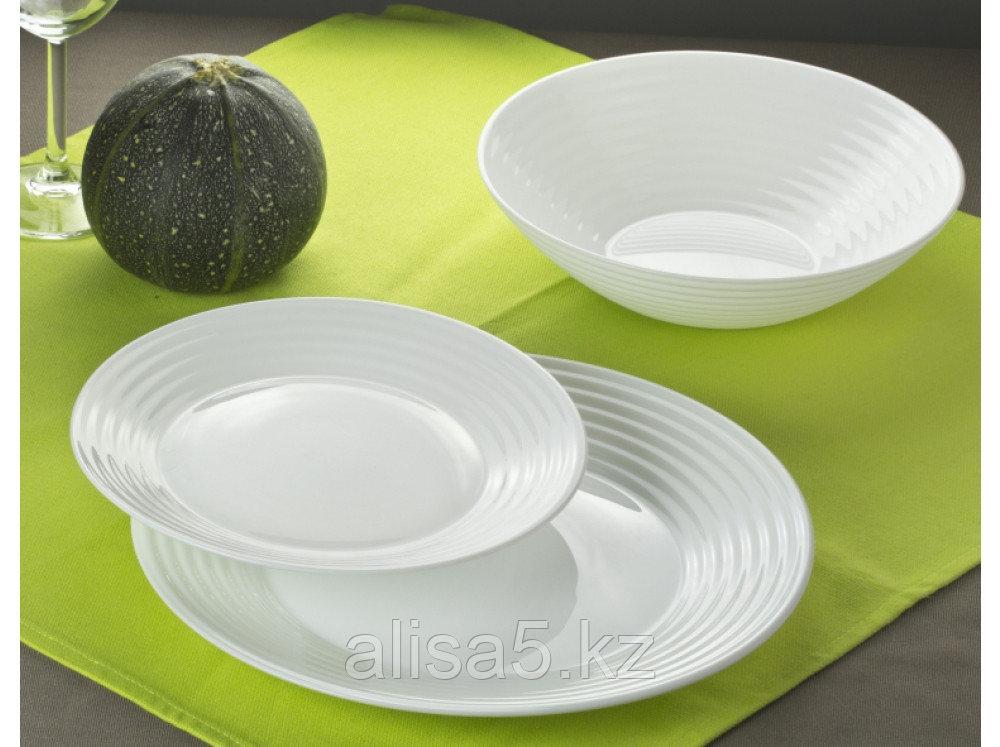 Сервиз столовый белый HARENA 19 предметов