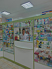 Кассовая витрина для аптек из ЛДСП, фото 2