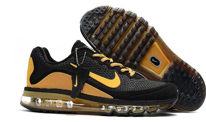 Кроссовки Nike Air Max 2017 Version 2 черно желтые, фото 2