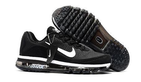 Кроссовки Nike Air Max 2017 Version 2 черные, фото 2