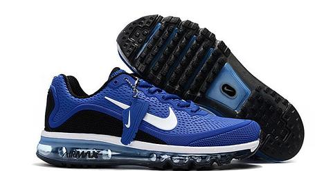 Кроссовки Nike Air Max 2017 Version 2 синие , фото 2
