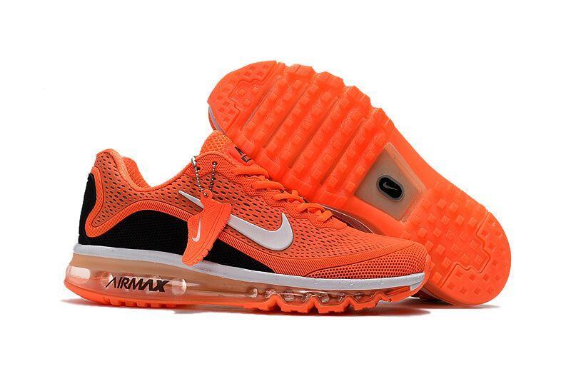 Кроссовки Nike Air Max 2017 Version 2 оранжевые