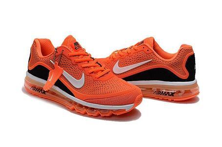 Кроссовки Nike Air Max 2017 Version 2 оранжевые , фото 2