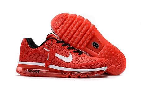Кроссовки Nike Air Max 2017 Version 2  красные, фото 2