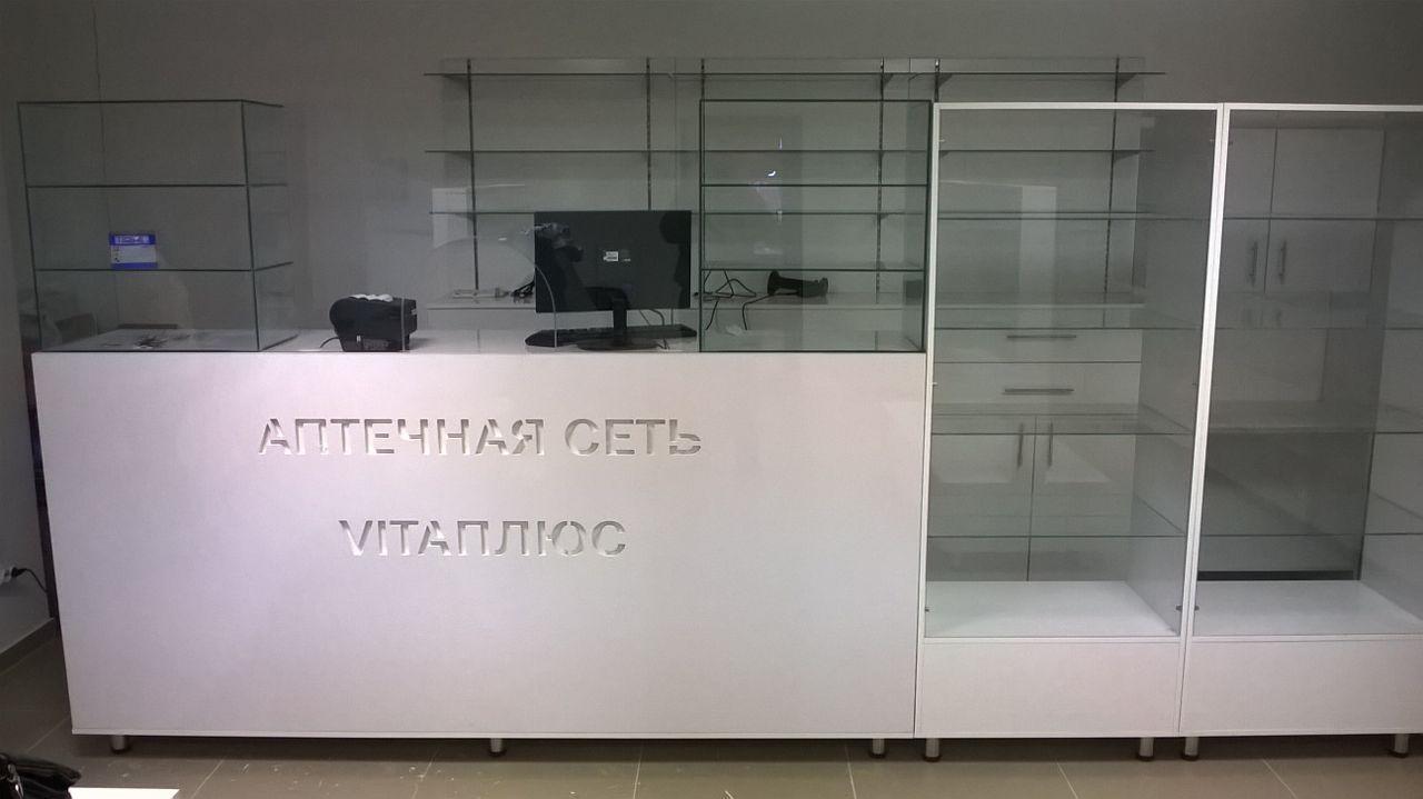 Кассовый стол для фармацевта из МДФ