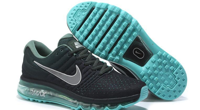 Кроссовки nike air max 2017 Version III (3) Black green
