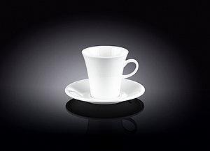 Набор Wilmax кофейная чашка и блюдце 160 мл