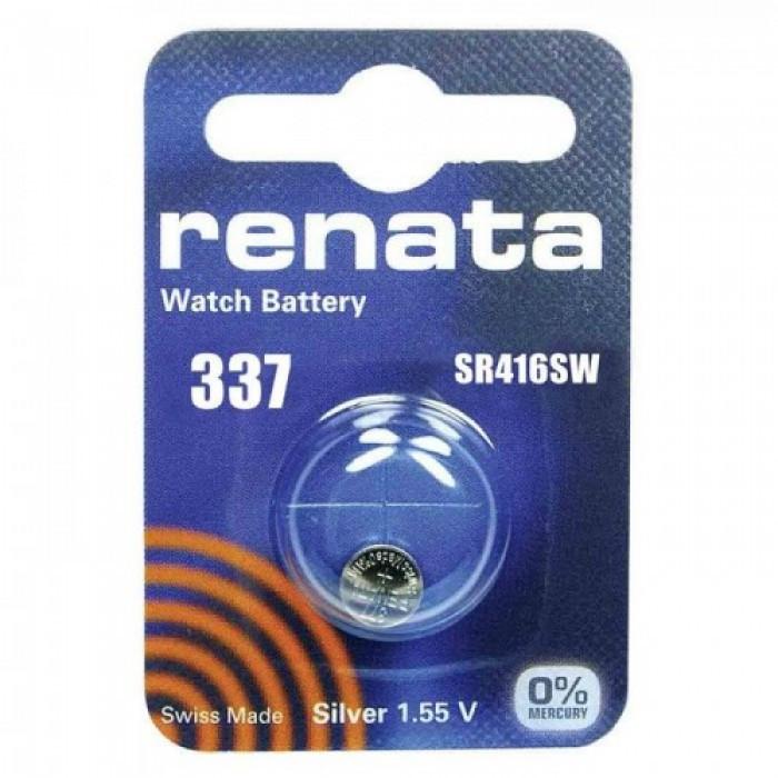 Батарейка часовая RENATA 337  SR416SW