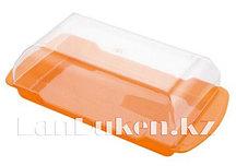 Сырница прямоугольная 125* 205 мм с ручками 23900 (003)