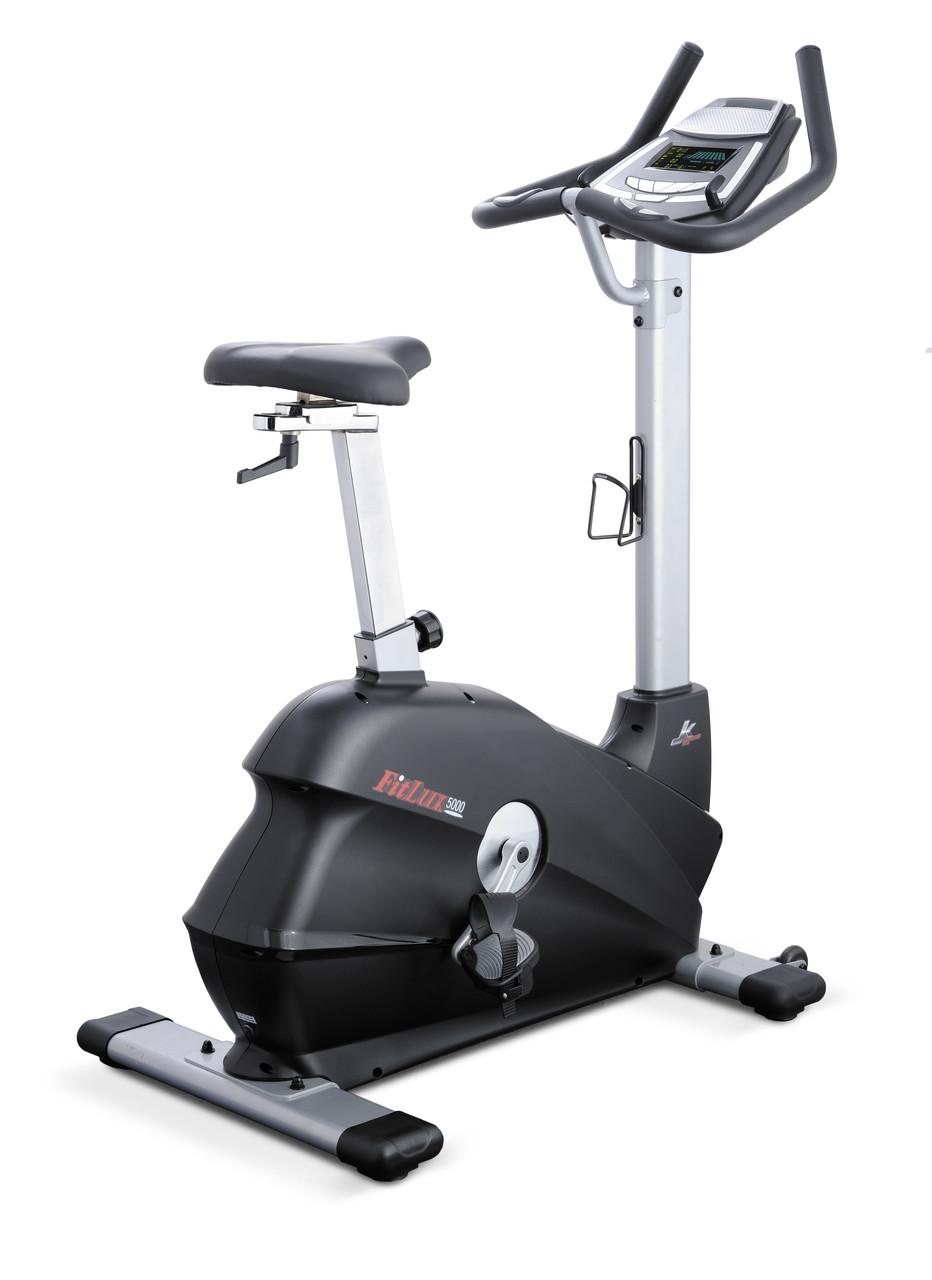 Велоэргометр JK FitLux 5000 полукоммерческий вертикальный магнитный