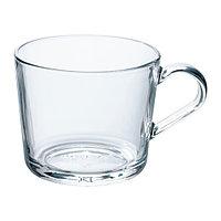 Кружка ИКЕА/365+ прозрачное стекло 240 мл. ИКЕА IKEA, фото 1