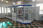 Витрина фасадная угловая для аптек, фото 3