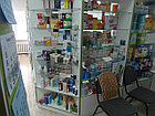 Витрина фасадная угловая  для аптек, фото 6