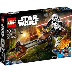 LEGO: ШТУРМОВИК-РАЗВЕДЧИК НА СПИДЕРЕ