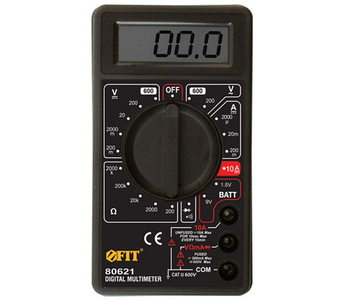 (80621) Мультиметр 0,1мВ-600В; 0,1В-600В; 1мкА-10А; 0,1Ом-2МОм