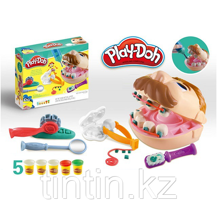 "Набор пластилина ""Доктор Зубастик"" Play-Doh PD8605, фото 2"