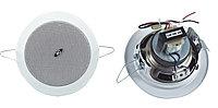 ITC T-104G потолочная врезная двухполосная акустическая система, 3-6W, 100V, 88-96 dB, 110-13000 Hz