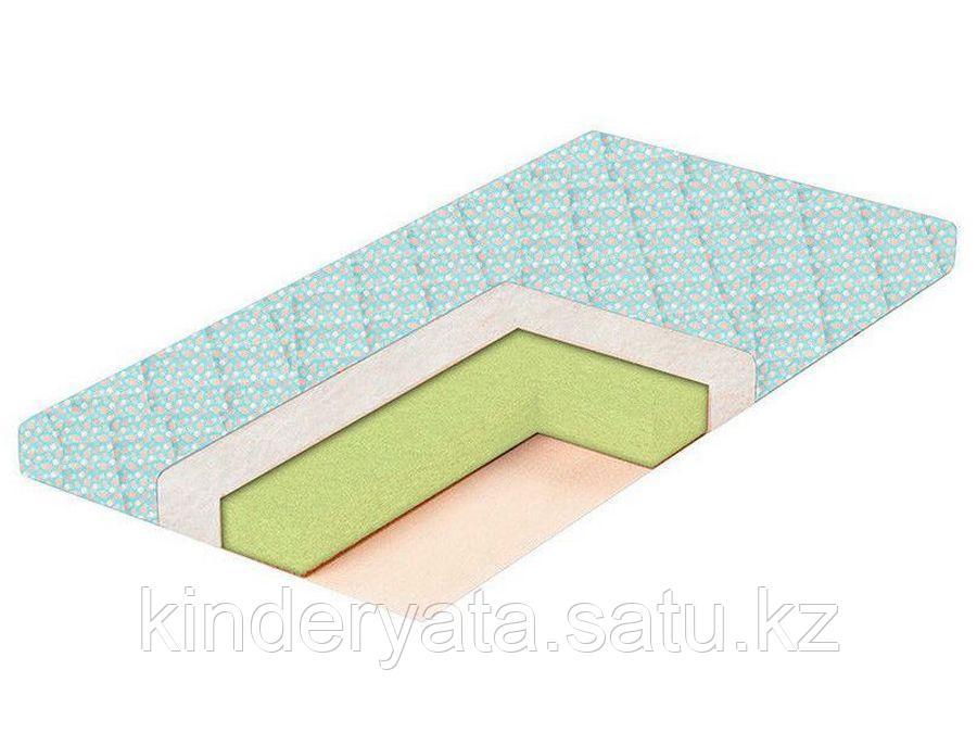 Матрас в кроватку Eco Bamboo 8 119*59*8 Стеганая бязь