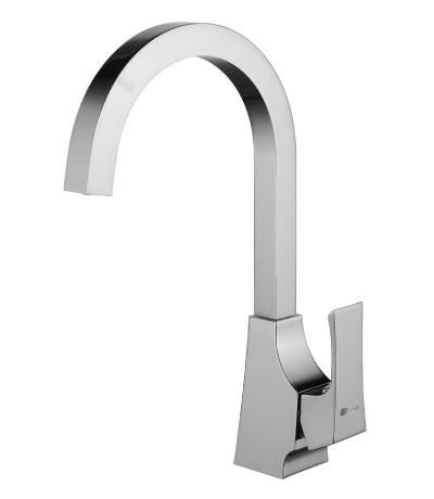 Смеситель для кухни с поворотным изливом LeMark Серия UNIT LM4555C