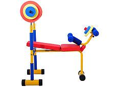 Детский тренажер скамья для жима (2-8 лет), фото 3