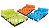 Надувной диван трансформер Bestway 67356 с насосом 193* 152* 64 см