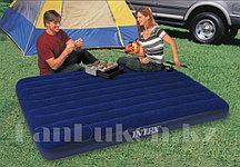 Надувной матрас кровать Intex 68758 (137*191*22 см)