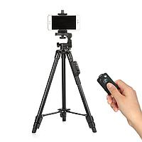 Штатив Yunteng VCT-5208 с пультом для смартфонов и лёгких камер, фото 1