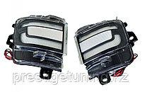 Туманки в задний бампер диодовые (черные) Land Cruiser 200 2016-21