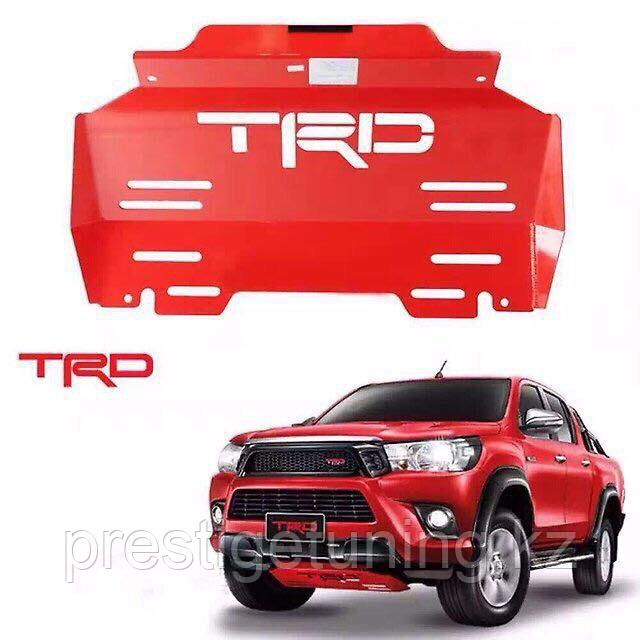 Защита двигателя на Toyota Hilux 2016-20 TRD