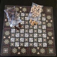 Шахматы 3 в 1 (49 х 49 см)