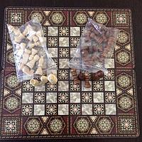 Шахматы 3 в 1 (40 х 40 см), фото 1
