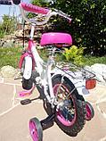 """Двухколесный велосипед Mercedes 12"""" (Розовый), фото 3"""