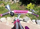 """Двухколесный велосипед Mercedes 12"""" (Розовый), фото 5"""