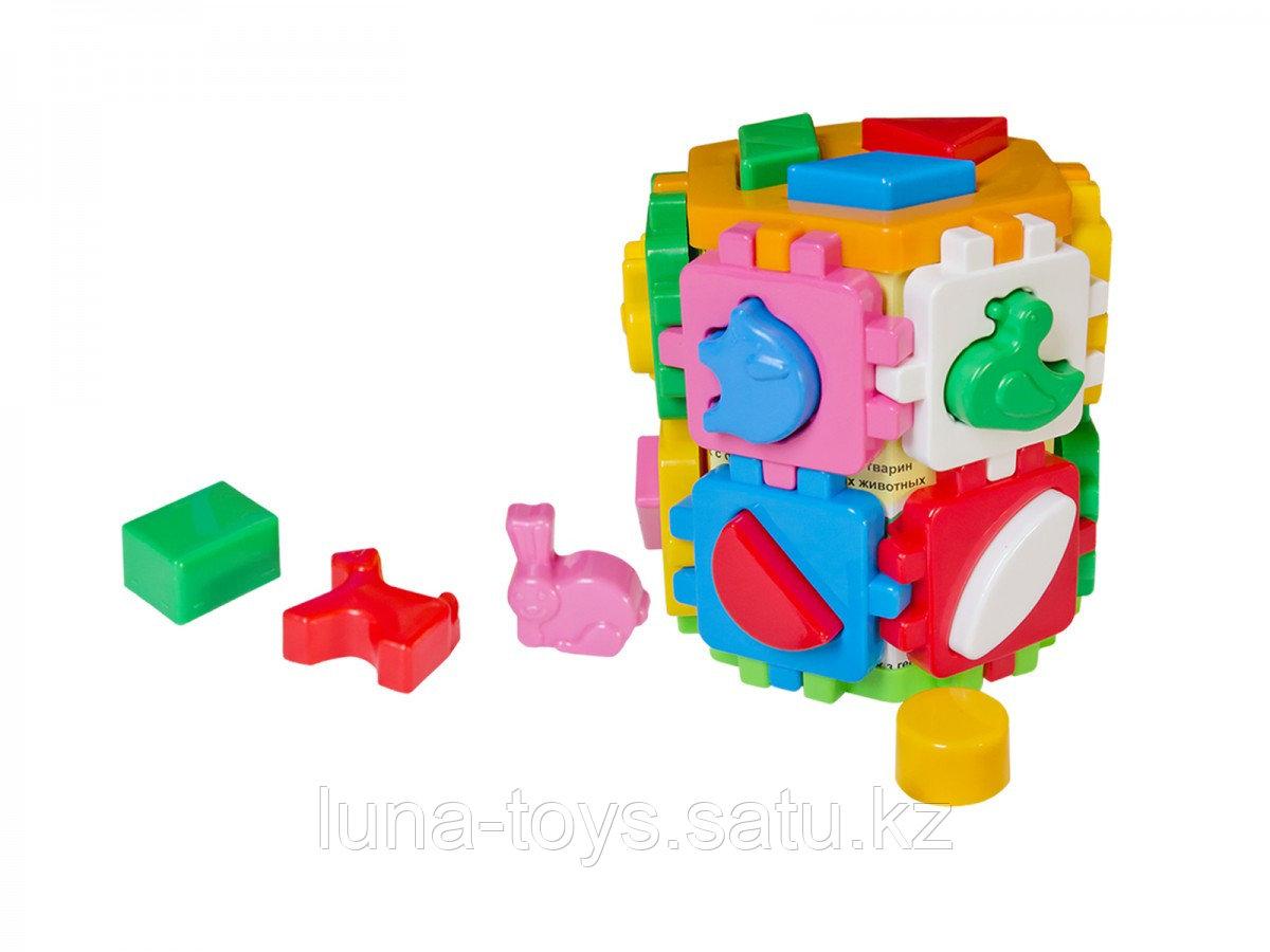 """Игрушка куб  """"Умный малыш"""" Конструктор 2001"""