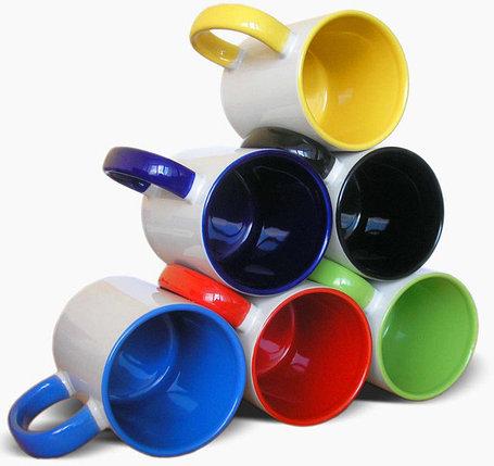 Кружка с цветной заливкой, фото 2