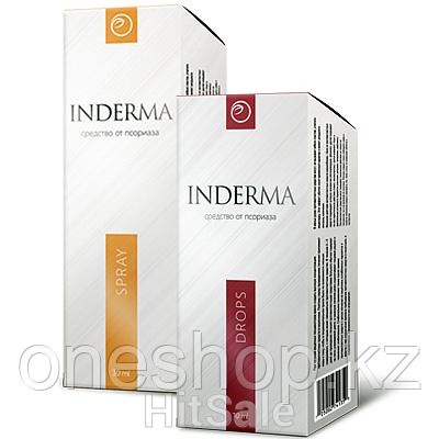 Средство INDERMA от псориаза (капли и спрей)