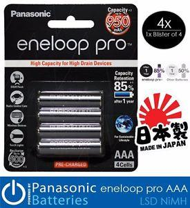 Аккумулятор Panasonic Eneloop Pro AAA 950mAh