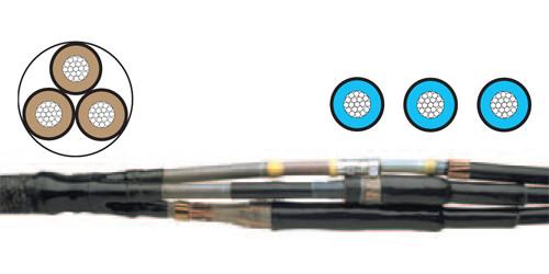 Муфта TRAJ-12/3x150-240-W